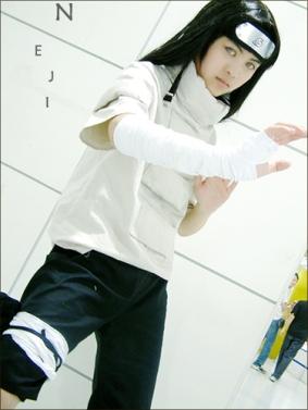 cosplays de naruto Neji-cosplay